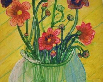 Still Life Study Of Flowers 3