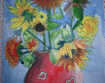 Still Life Study Of Flowers 5