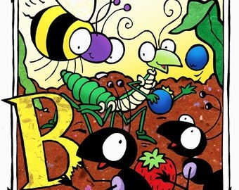 B is for Insects