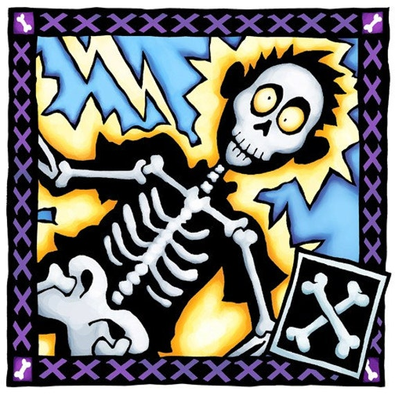 X is for Skeleton