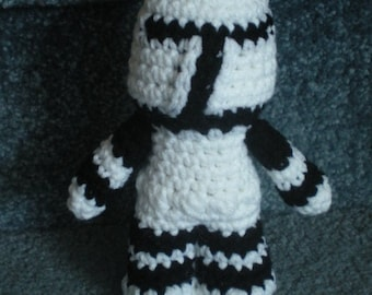 Made to order, Hand crocheted Star Wars Clone Amigurumi Doll