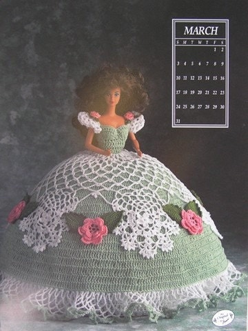 Annie S Attic Crochet Bed Doll Pattern March 1991 Barbie