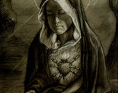 Seven Sorrows (Dolors) of the Blessed Virgin Mary.