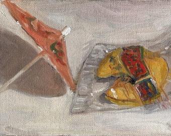 Fortune Cookie and Umbrella