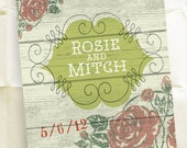 Custom Save the Date Invitations -  Country Wedding - Personalized Rustic Design - 100 Postcards
