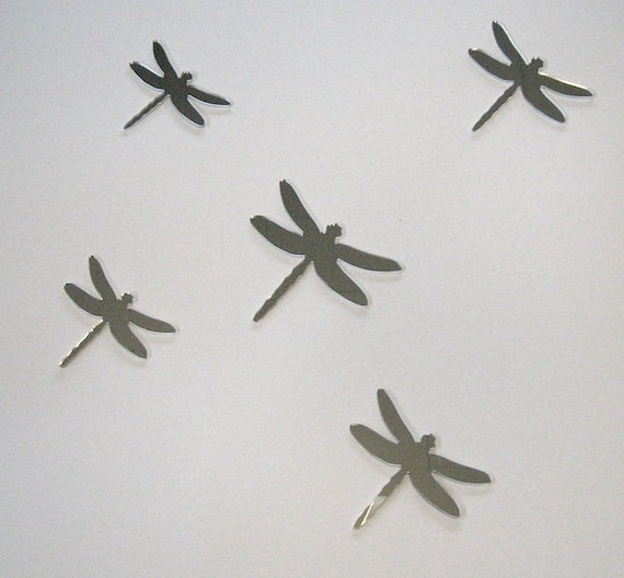 Objectify Set of 5 Dragonfly Mirrors