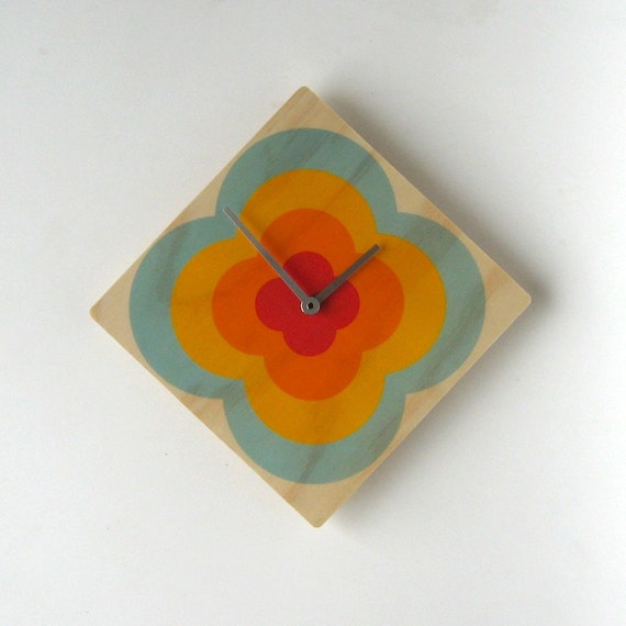 Objectify Echo Flower Wall Clock