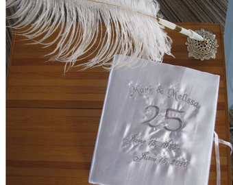 Guest book for wedding, anniversary or for any occasion