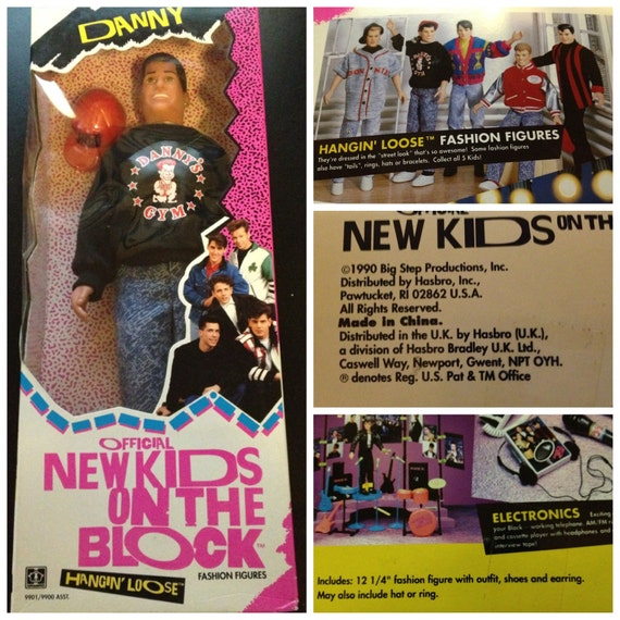 Danny Wood New Kids on the Block Hangin' Loose Fashion Figure
