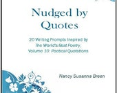 Writing Inspiration, E-book of 20 Writing Prompts, Free Sample