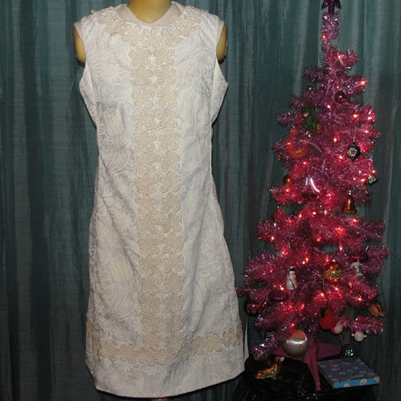 The Lilly by Lilly Pulitzer Pristine Ivory Floral Dress Large