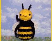 Crochet Pattern: Amigurumi, Buzzle Bee and BONUS FREE Picnic Ant Pattern