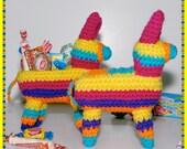 Crochet Pattern: Amigurumi, Piñata Fiesta