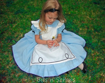 Alice In Wonderland costume dress