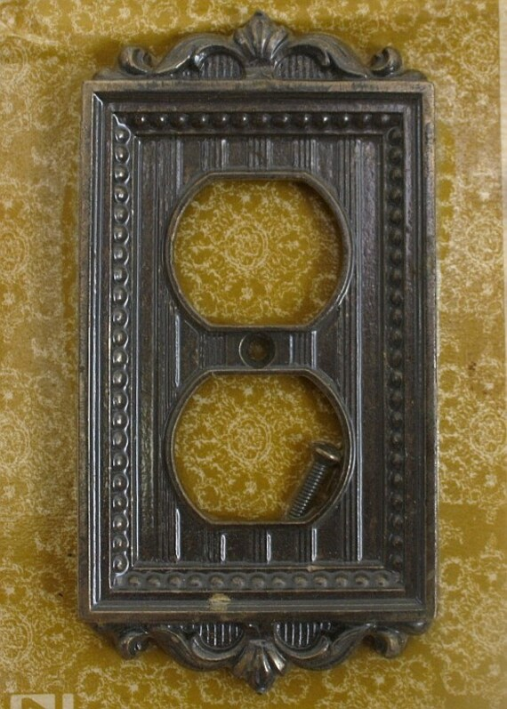 Light switch cover. Outlet cover. Wall plate.
