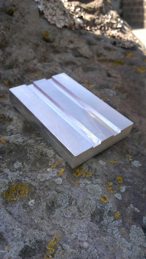 hand machined soap tray