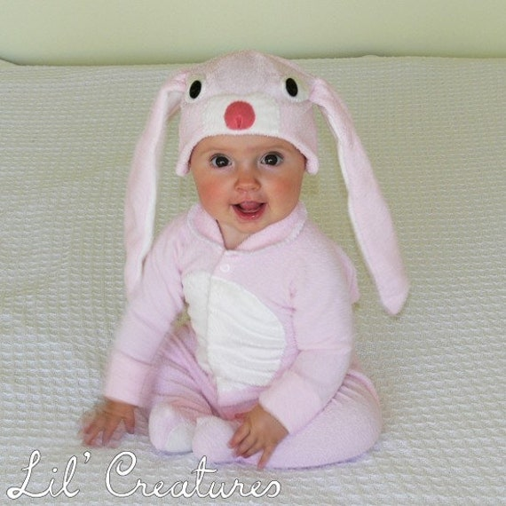 Size 3-6m Pale Pink Bunny