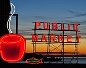 Pike Place Market  Photograph 8x12
