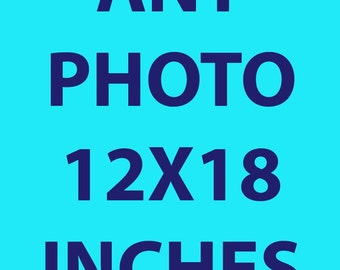 Any Photograph 12x18 Inches Print
