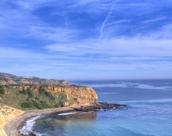 Ocean View from Palos Verdes Photograph 8x10