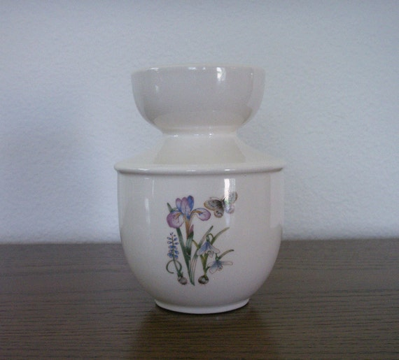 Ceramic Hyacinth Forcing Vase with Bulb