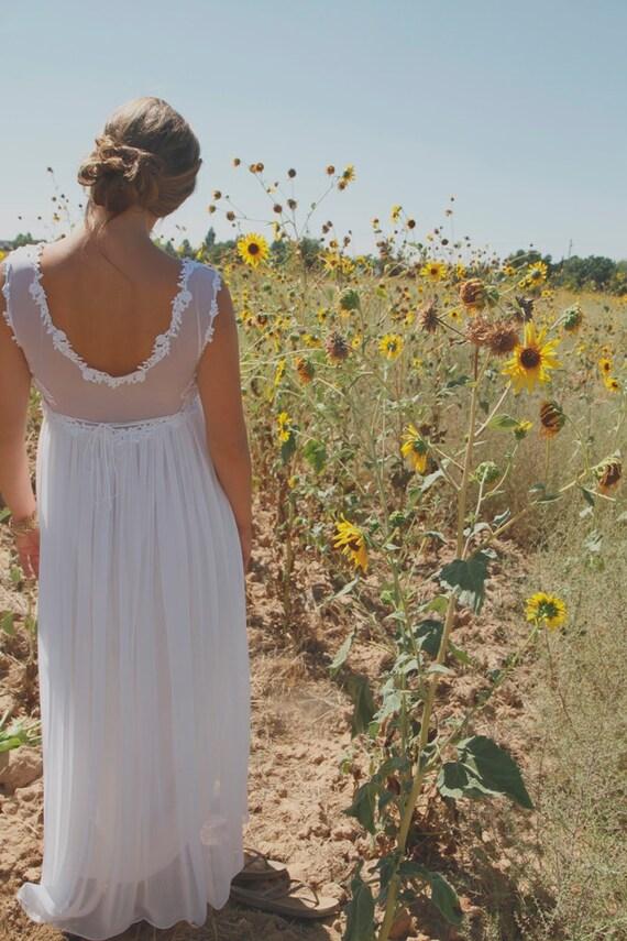 Vintage Wedding Gown - Etta