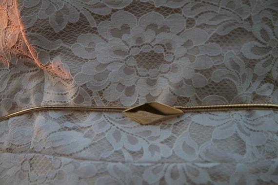 Vintage Bridal Belt - We Found Love