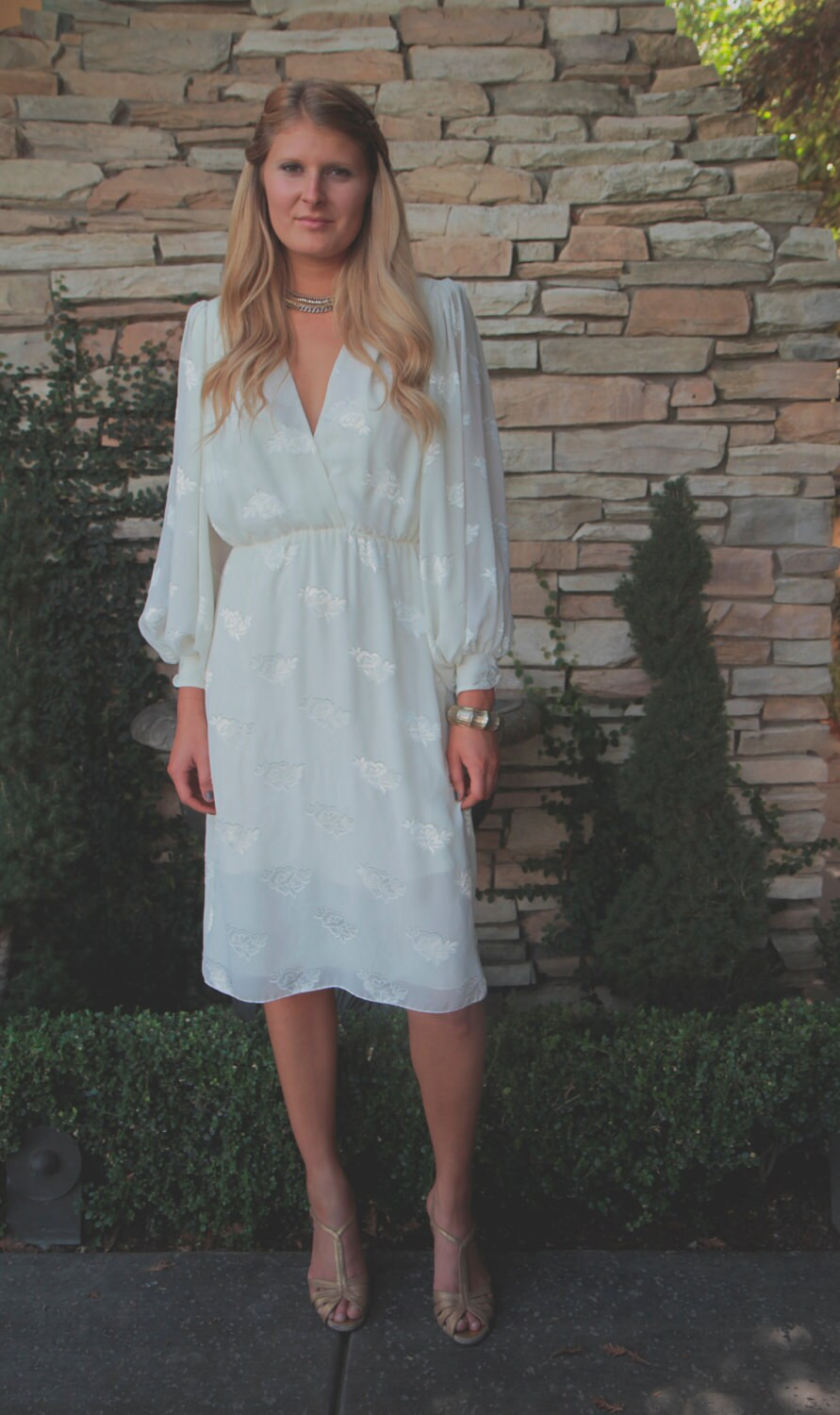 Vintage wedding dress austra by daughtersofsimone on etsy for Wedding dress dry cleaning denver