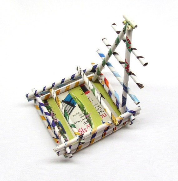 Cell Phone, i- phone Holder, Eco Friendly, Upcycled, Re purposed, Reclaimed Paper