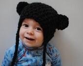 Black Bear Hat Custom Made