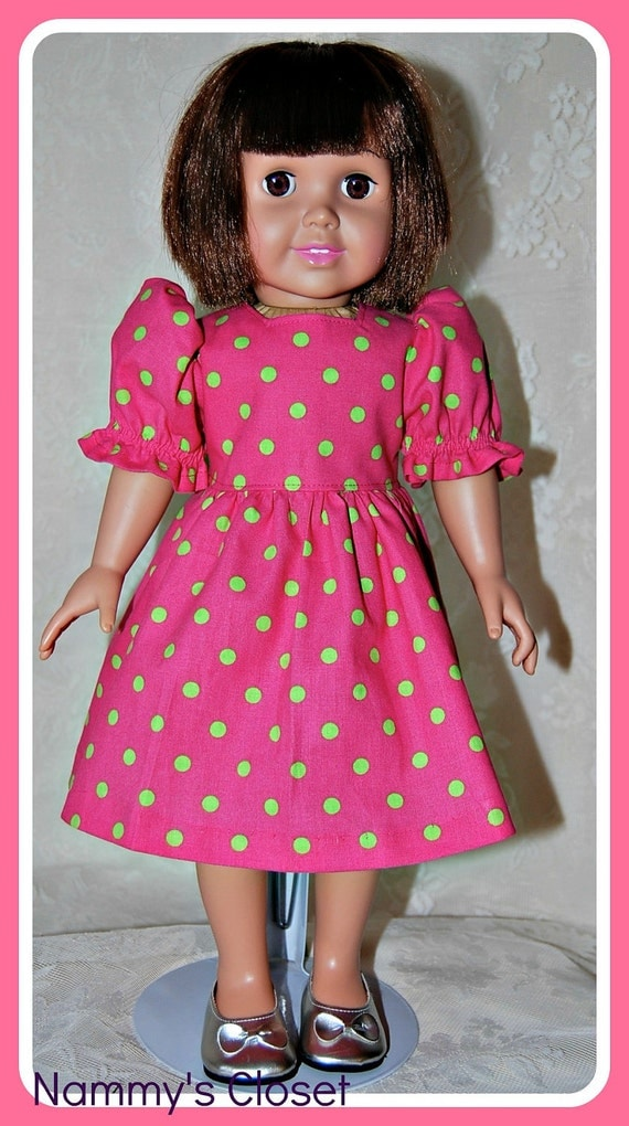 18 Inch Doll Clothing American Girl Doll - Dress