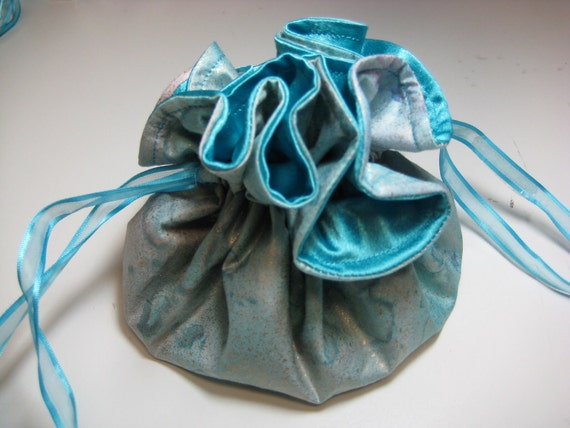 Jewelry Drawstring Travel Pouch