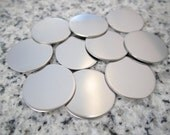 "5/8"" (16MM) Round Disc Stamping Blanks, 22g Stainless Steel - AWESOME Silver Alternative R05"