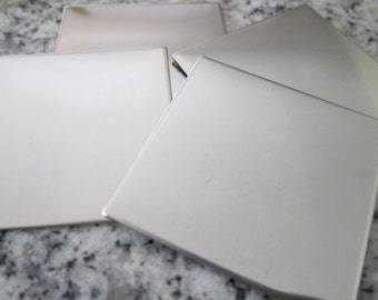 """1 1/4"""" (32MM) Square Stamping Blanks, 22g Stainless Steel - AWESOME Silver Alternative S10"""
