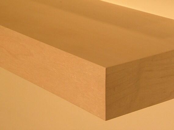 24 Long Floating Wood Shelves Wall Shelf Natural By MrSelecta