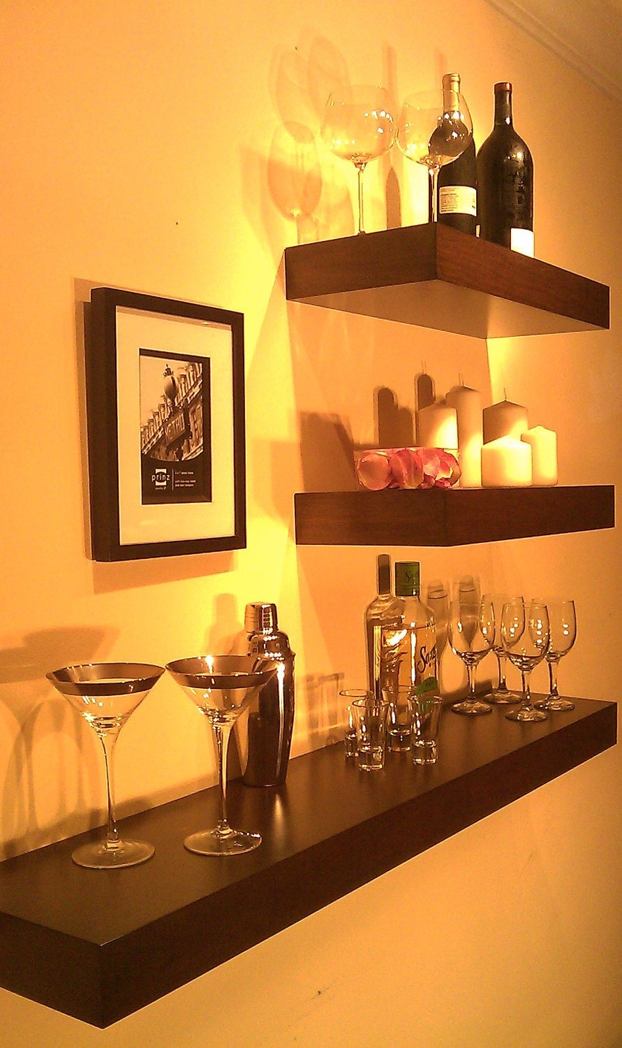 wall mounted wine rack free shipping wine bottle by mrselecta. Black Bedroom Furniture Sets. Home Design Ideas