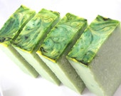 Coconut Lime Soap, Handmade Cold Process, Vegan Eco Friendly