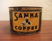 RESERVED FOR 11stean11 - Vintage Sanka Coffee Can