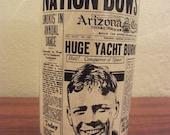 Arizona Gazette Charles Lindbergh Glass