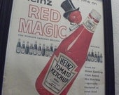 Heinz Ketchup Red Magic Advertisement