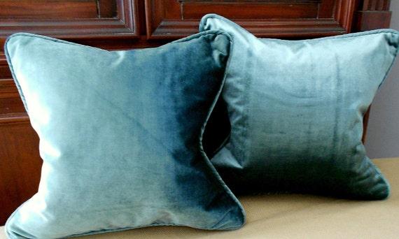 Scalamandre Silk Infused Velvet 16 x 16 Pillow
