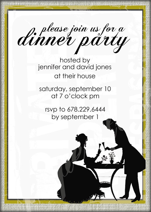 Dinner Party Invitations