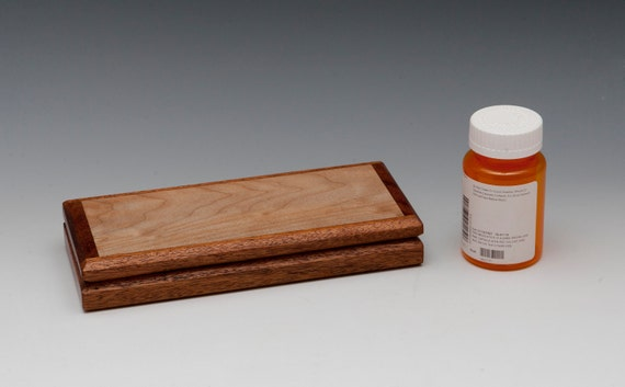 Wood Box Pill organizer pb-18