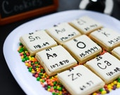 Reserved for Sarah Smart- One dozen Periodic Table cookies