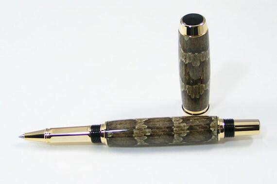 Prairie Rattlesnake Rollerball Pen - Reserved for Val (Naga10)