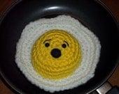 Screamy Egg Amigurumi Toy