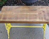 SALE - Reclaimed Wood Bench