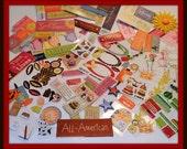 Mixed lot of stickers - destash