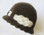 CROCHET PATTERN Knotted Beanie (6 sizes included from newborn-adult) Instant Download