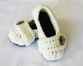 CROCHET PATTERN Cozy Women's House Slippers (5 sizes included from Womens 3-12) Instant Download